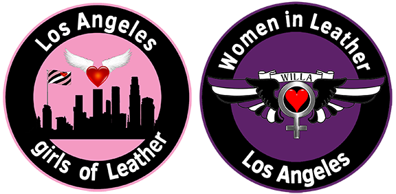 Los Angeles girls of Leather